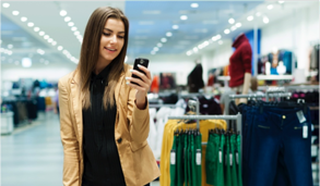 Smartphone users spend more in store