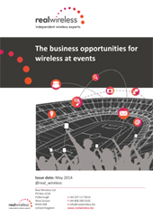 The business opportinities for wireless at events