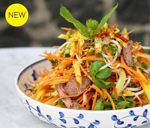 Enjoy a taste of Vietnam at this vibrant new eatery