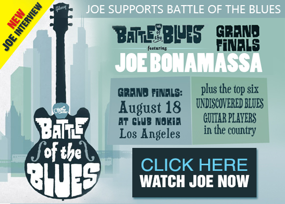 Help Joe find the Nation's top undiscovered Blues Guitar Player. Watch more here!