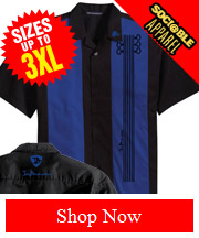 Sociable Apparel's Fan Inspired Blues Guitar Shirt