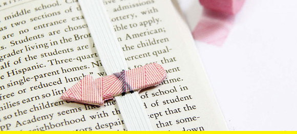 A lovely bookmark